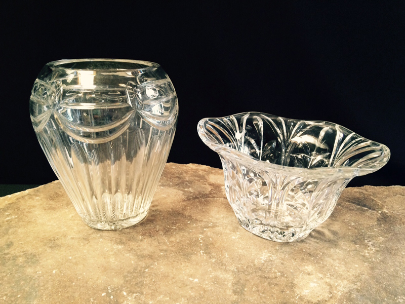 Elegant Crystal Vases