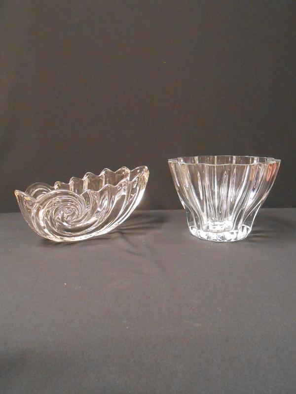 Swirl Crystal Bowls