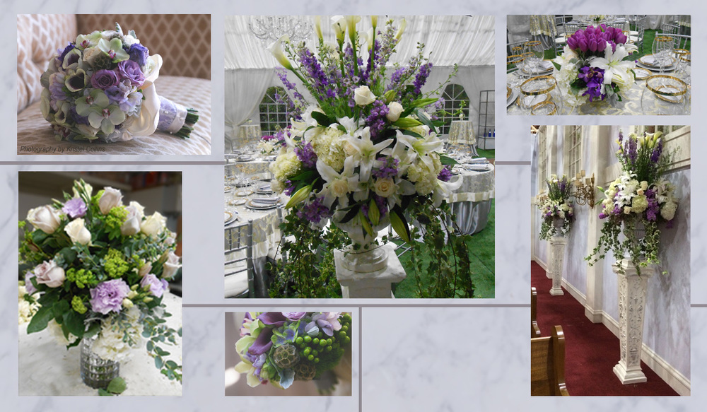 Lovely Lavender Wedding