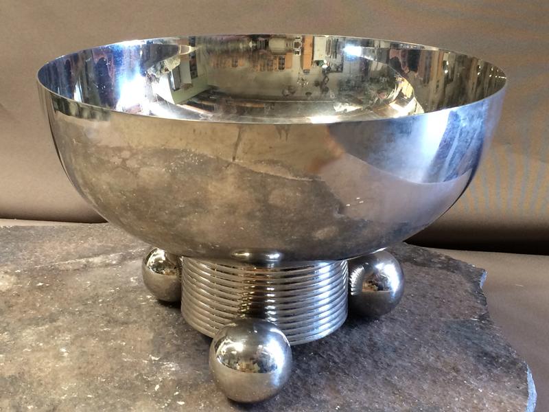 Silver Deco Bowls