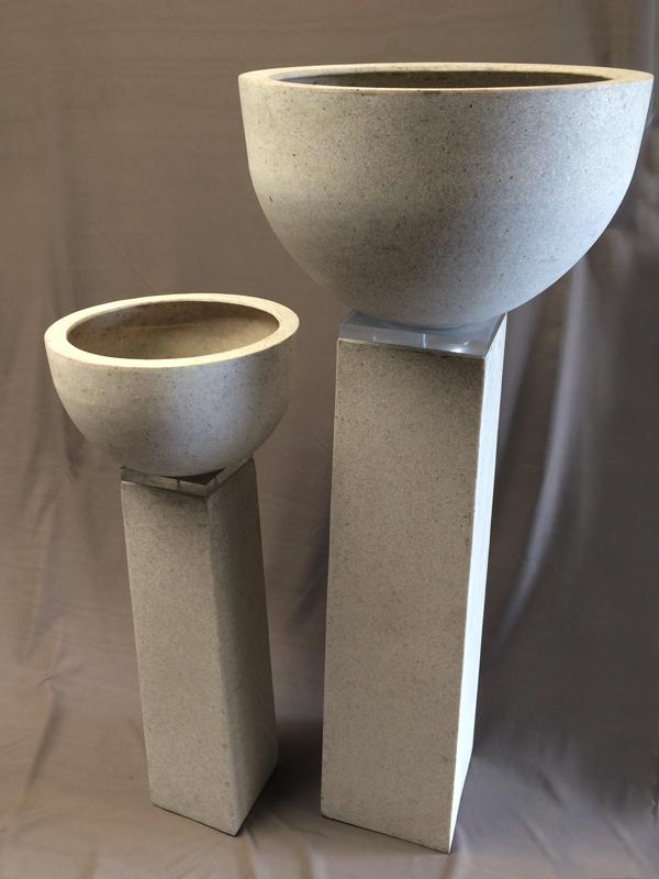 Granite pedestals