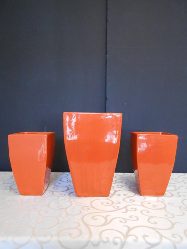Orange ceramic
