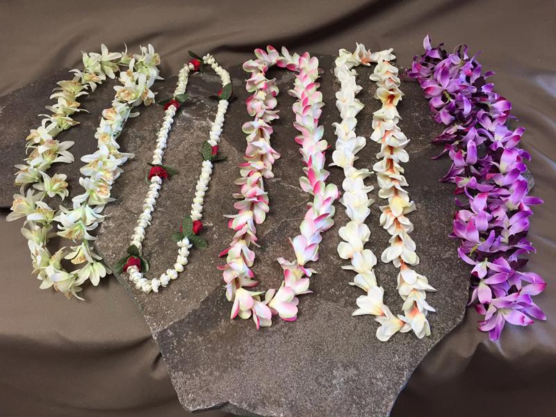 Hawaiian leis 10
