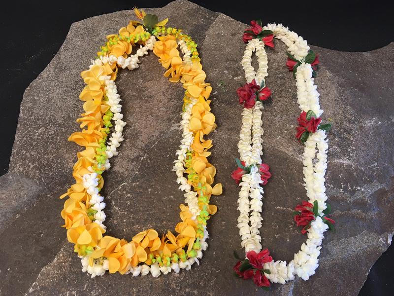 Hawaiian leis 6