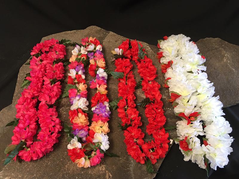 Hawaiian leis 4