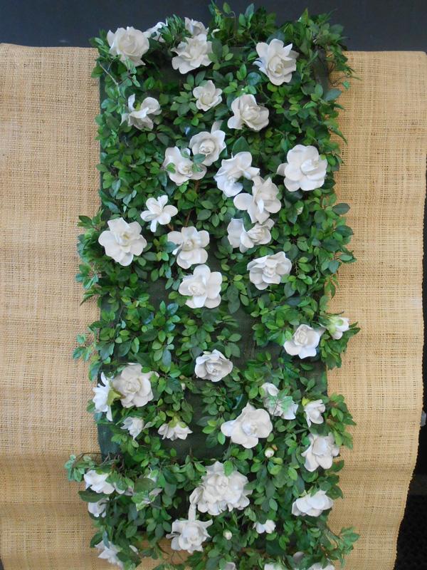 Horse blanket gardenias