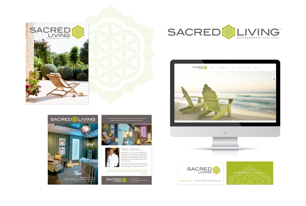 Client: Sacred Living