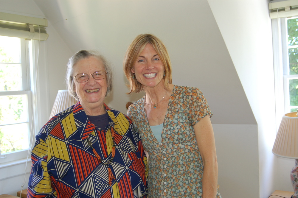 with Elinor Ostrom