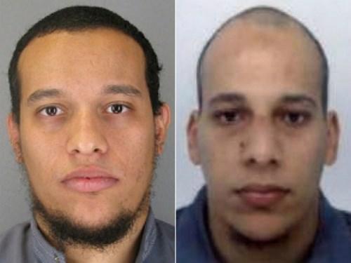 Hai anh em Said và Cherif Kouachi. Nguồn internet.