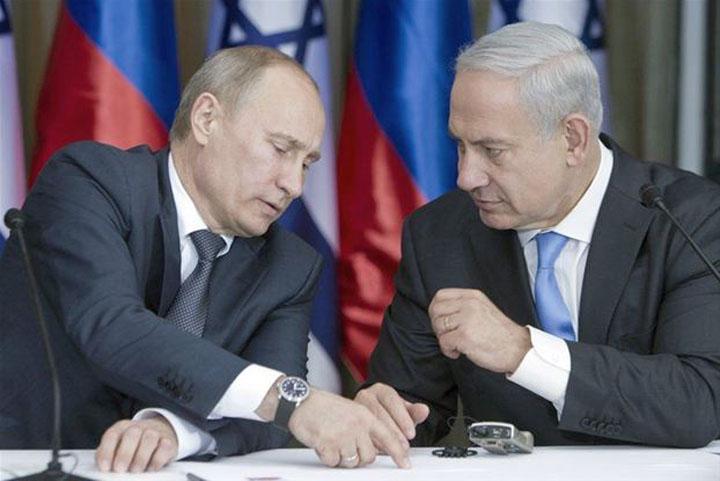 Putin và Netanyahu bàn luận - Nguồn Internet