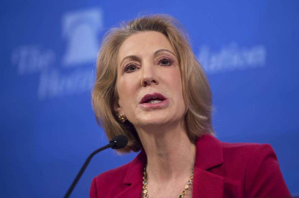 Carly Fiorina nữ ứng viên đảng Cộng Hòa tranh cử tổng thống, nguồn internet