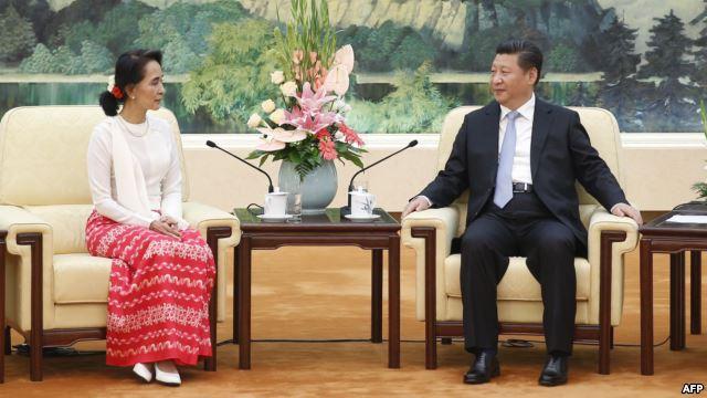 Bà Aung San Suu kyi được Tập Cận Bình mời sang Trung Quốc, nguồn internet