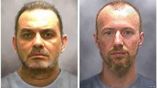 Hai tù nhân trốn thoát khỏi nhà tùởNew York nhờ tay trong giúp, nguồn internet.