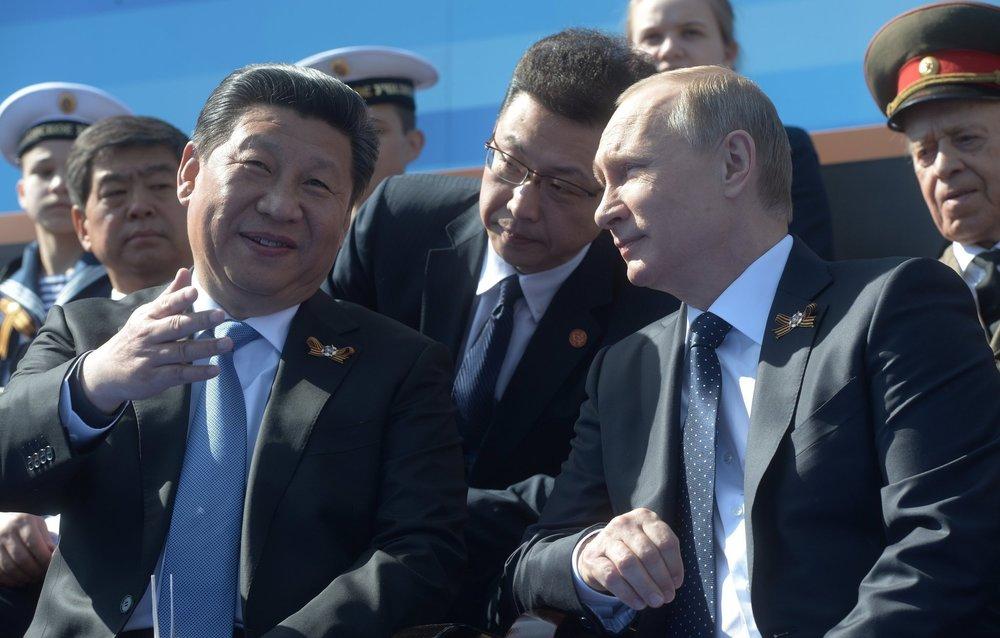 Tập Cận Bình và Putin. Nguồn ảnh từ VN.