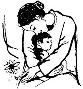 Mẹ và con - Nguồn internet.
