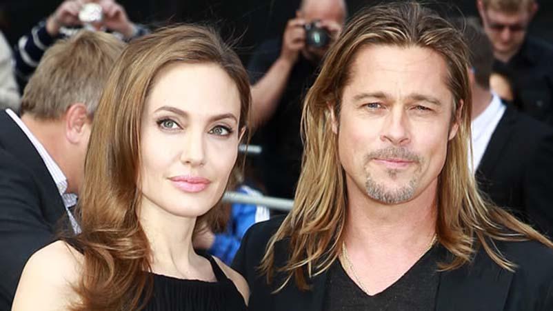 Angelina Jolie và Brad Pitt. Nguồn internet.