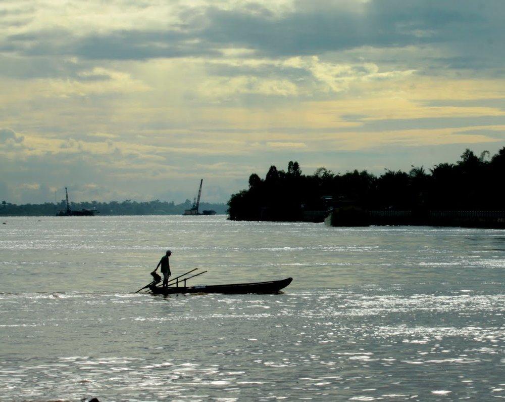 Sông nước Cửu Long. Nguồn internet.