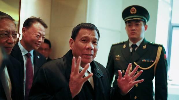 Tổng thống Philippines, Rodrigo Duterte. Nguồn internet.