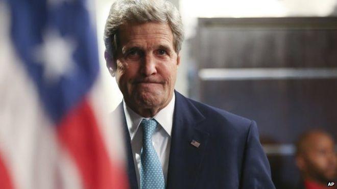 Ngoại trưởng Hoa Kỳ, John Kerry.