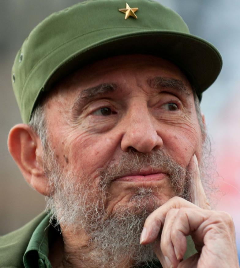 Fidel Castro. Nguồn internet.
