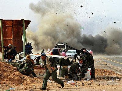 Chiến tranh tại Libya. Nguồn internet.