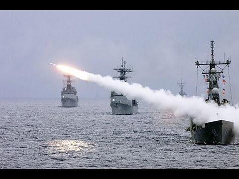Tố cáo phi cơ Syria thả bom hóa học giết thường dân, Mỹ phóng hõa tiễn vào lãnh thổSyria. Nguồn internet.