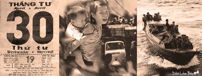 30 tháng 4, ngày cộng sản Bắc Việt xâm chiếm miền nam. Nguồn Dân Làm Báo.