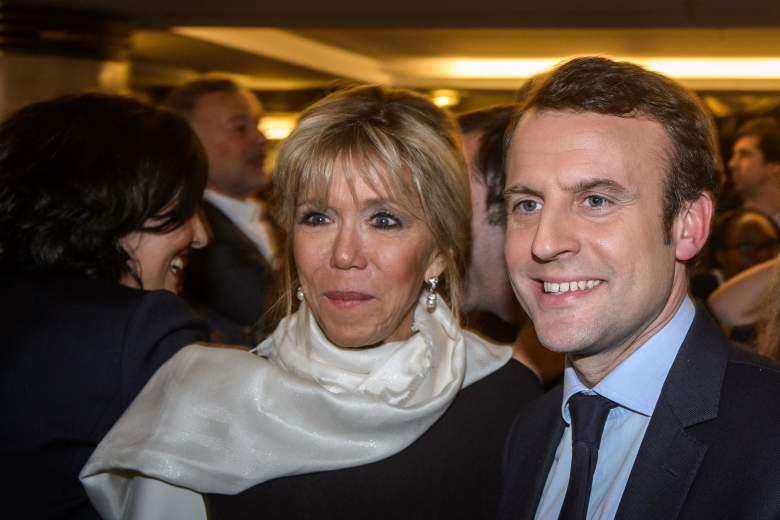 Vợ chồng Tổng Thống Pháp -Brigitte Macron, Emmanuel Macron. Nguồn internet.