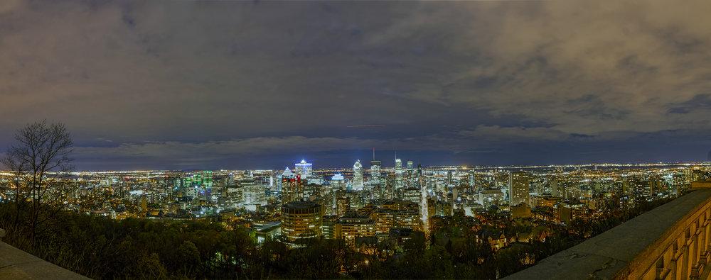 Toàn cảnh Montreal, Canada (ảnh Vũ Ngọc Hiến)