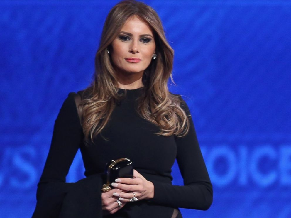 Đệ nhất phu nhân Hoa Kỳ, Melania Trump. Nguồn internet.