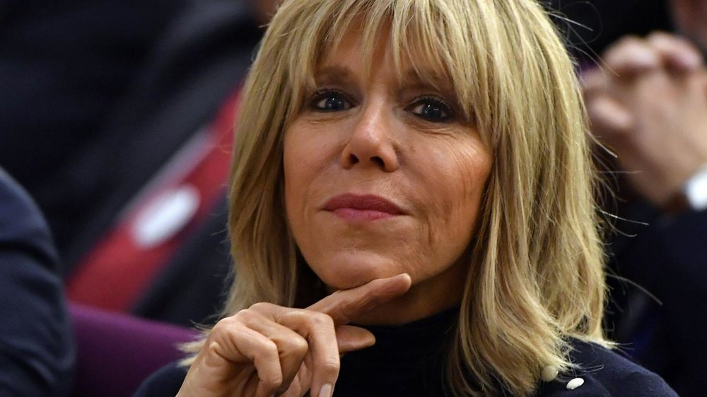 Dệ nhấ phu nhân nước Pháp, Brigette Macron. Nguồn internet.