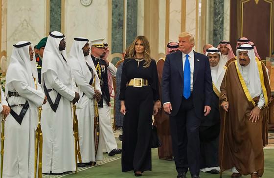 TT. Donal Trump thăm viếng Á Rập Saudi sau 100 ngày nhậm chức.