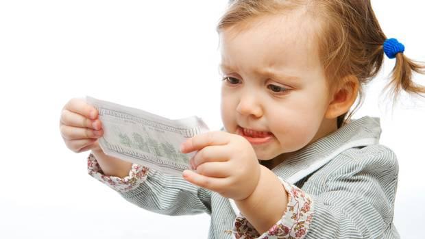 Người Do Thái dậy con nhận biết giá trị đồng tiền từ khi 3 tuổi. Nguồn internet.