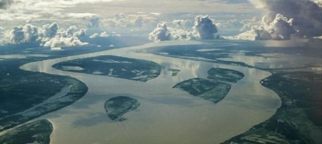 Các đập thủy điện trên sông Amazon, Brazil. Nguồn internet.