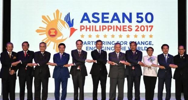 Cuộc họp lần thứ 5o của các nước Đông Nam Á và Đồng Minh tại Manila vào đầu tháng 8, 2017. Nguồn internet.