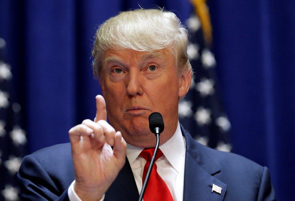 Trump luôn ở thế phát biểu bất chấp rồi sau đó lại biện hộ. Nguồn internet.