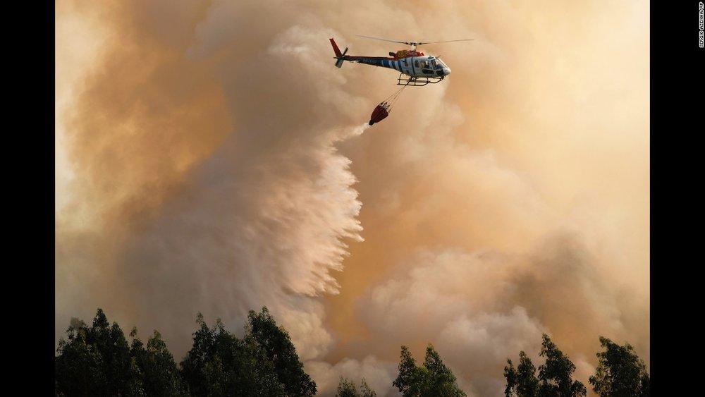 Cái nóng gay gắt trong tháng tám đã gây ra những đam cháy lớn tại nhiều tiểu bang ởnước Mỹ. Nguồn internet.