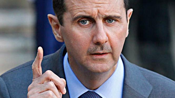 Tổng thống Syria, Assad. Nguồn internet.