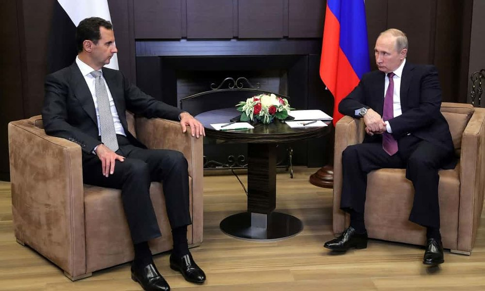 Thảo luận Putin Assad tại Sochi (20 tháng 11/2017) về chấm dứt cuộc chiến Syria