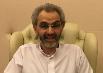 Bilianaire Prince Saudi Alwaleed. Nguồn internet.