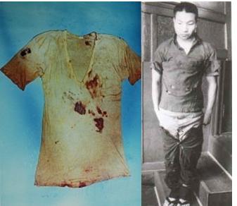 Chiếc áo dính máu tên sát nhân nào đó và cái quần ông mặc mãi... không vừa