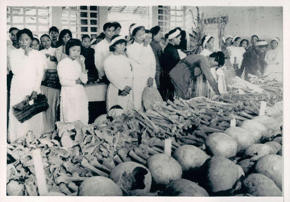 Tội ác của VC trong ngày Tết Mậu Thân 1968 tại Huế. Nguồn internet.