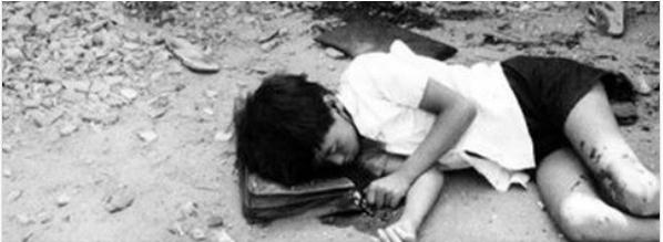 Em là một trong 32 học sinh (báo Hòa Bình đăng con số là 23), trường tiểu học Cai Lậy, Định Tường, bị VC pháo kích chết lúc 2:55 trưa ngày 9 tháng 3, 1974. (Trích từ bài viết của tác giảTrần Trung Đạo.)
