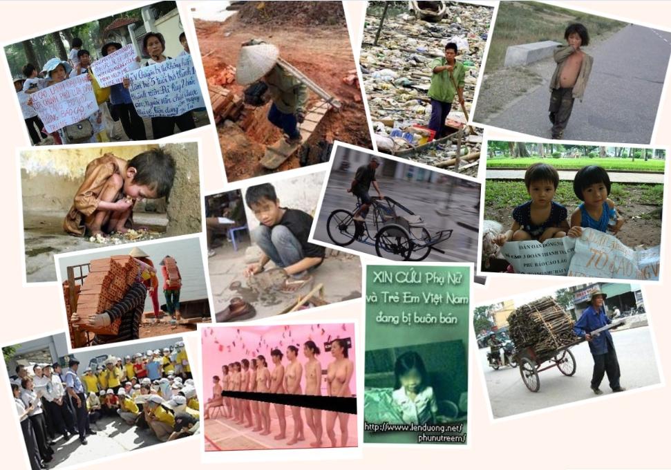 Đời sống người dân ta dưới chế độ cộng sản Việt Nam tham nhũng, đồi trụy.