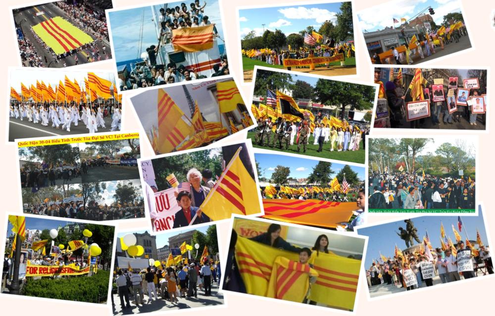 30 tháng 4 và các cộng đồng người Việt Tự Do trên thế giới.