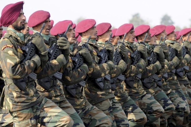 Quân đội Ấn Độ. Nguồn internet.