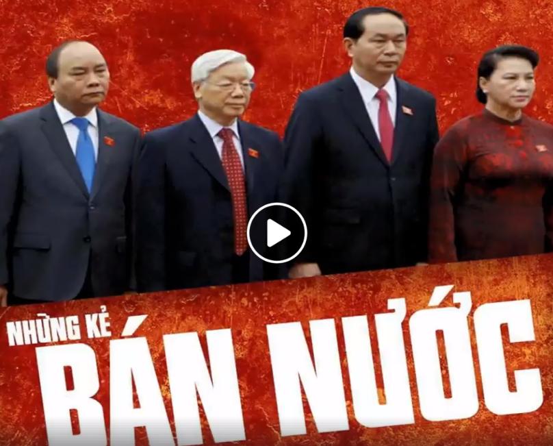 Những kẻ bán nước. Nguồn từ post Facebook Nguyễn Lân Thắng.