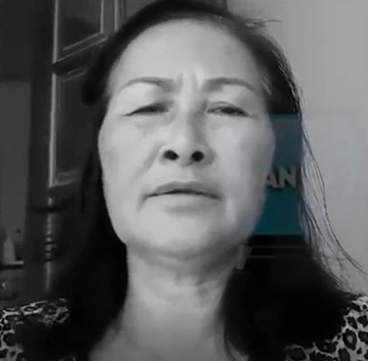 Bà Vũ Thị Kiên. Nguồn internet.