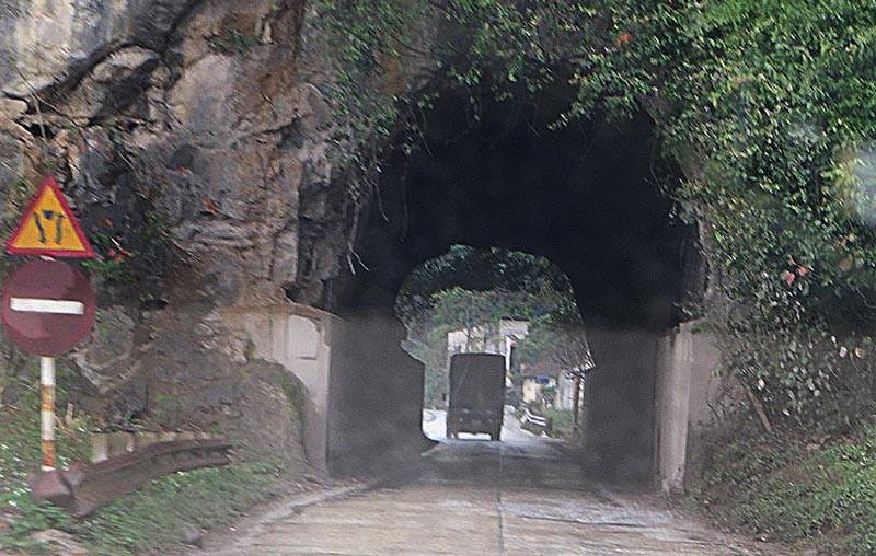 Hầm chui cổ nhất Việt Nam do Pháp xây dựng