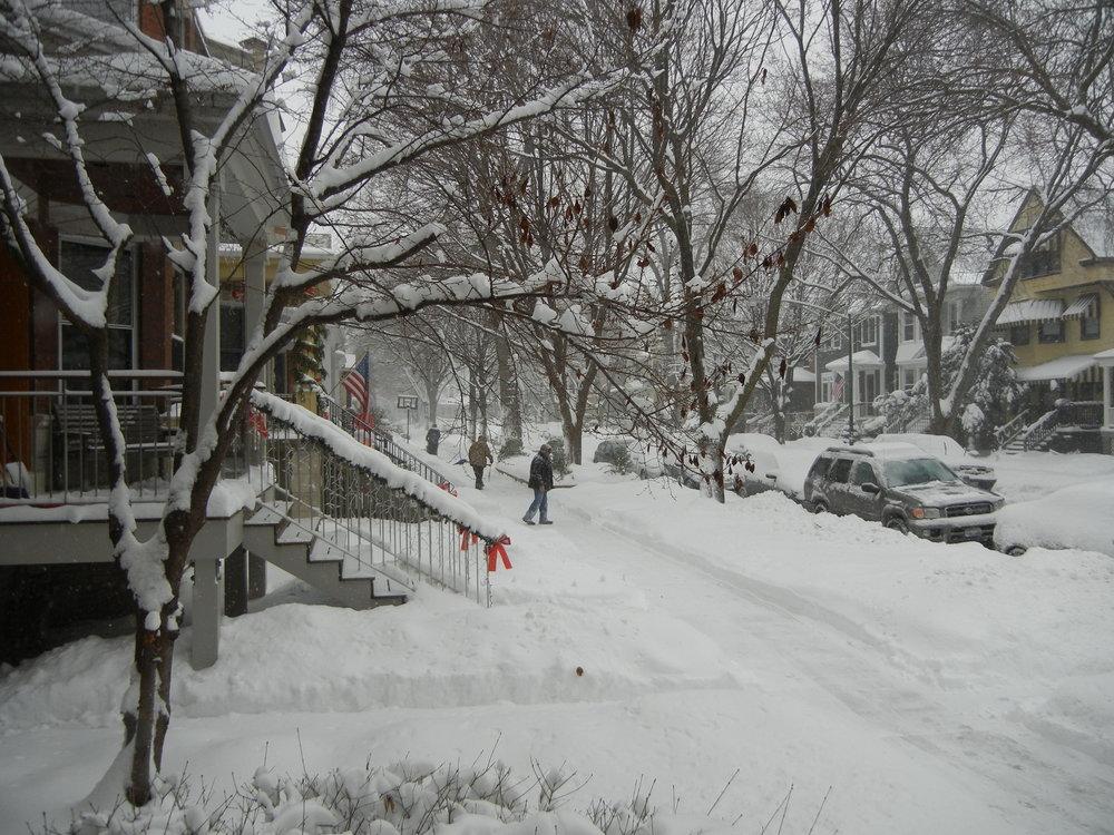 Mùa đông  bình  thường Chicagp